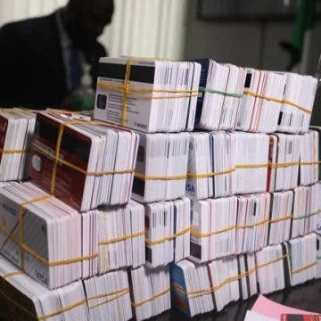 Customs intercept Dubai-bound passenger with 2,886 ATM cards concealed in noodles carton in Lagos lindaikejisblog