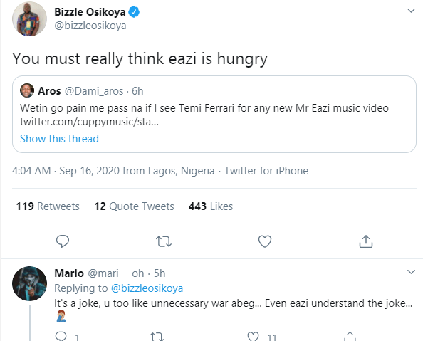 Mr Eazi trends as Nigerians hilariously react to Otedola buying Ferraris for his daughters including his girlfriend Temi lindaikejisblogMr Eazi trends as Nigerians hilariously react to Otedola buying Ferraris for his daughters including his girlfriend Temi lindaikejisblog 5