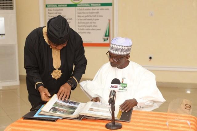 NTA signs MOU with Wale Adenuga Productions Ltd on return of The Village Headmaster TV Drama Series lindaikejisblog3