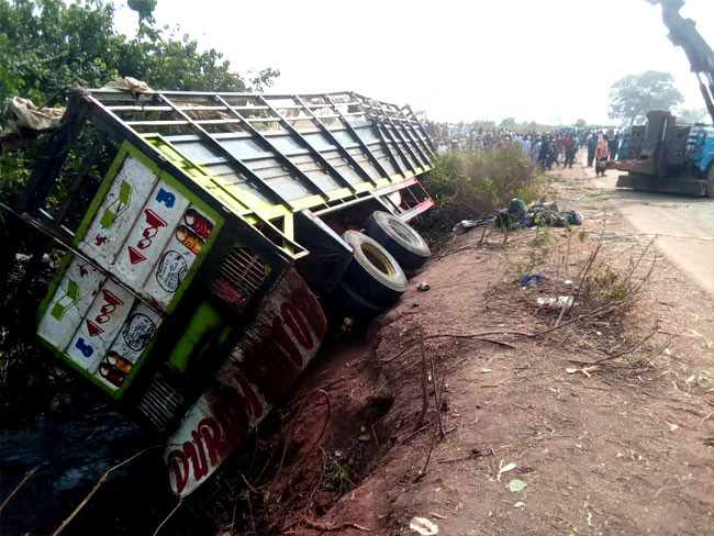 23 people killed after truck conveying humans and cows crashed in Niger state lindaikejisblog 1