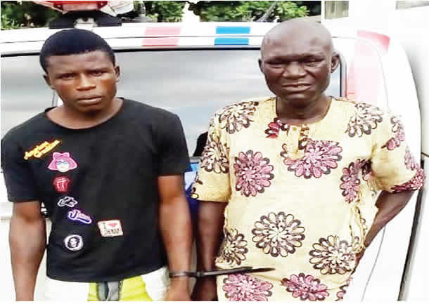 Two traffic robbers arrested in Lagos