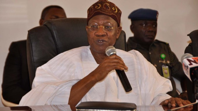 I called Governor of Nasarawa state and he said no Boko Haram in the state - Lai Mohammed
