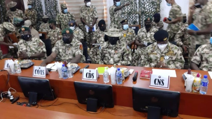 New Service Chiefs arrive Maiduguri to tackle insurgency