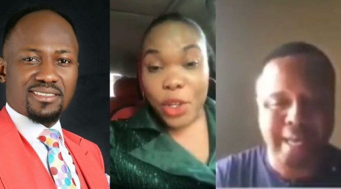 Pastor who accused Apostle Johnson Suleman of sleeping with his wife, releases what he claims is audio evidence