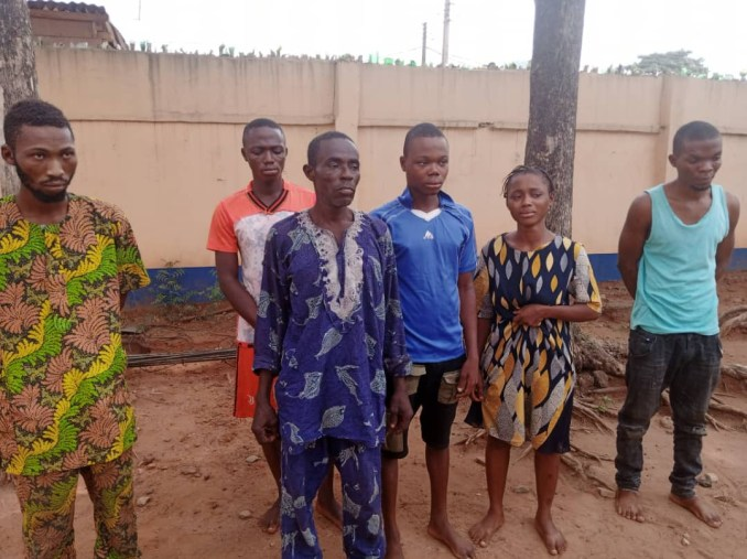 Father and his children arrested over kidnapping in Ogun
