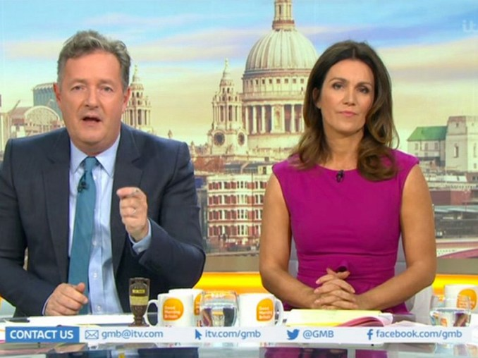 The show will go on - Susanna Reid speaks on co-host Piers Morgan's departure from the GMB show