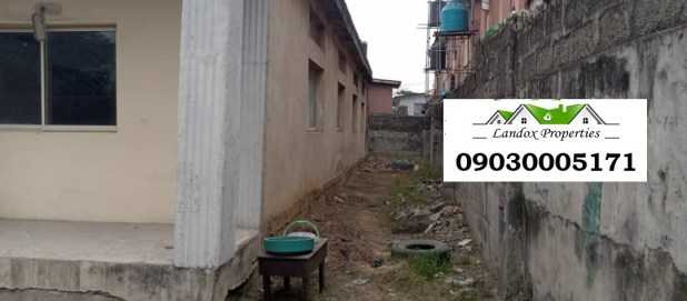 A plot of land with uncompleted building for sale in Surulere Distress Sale lindaikejisblog2
