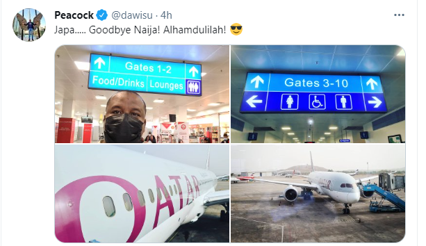 Governor Ganduje's aide who was sacked for criticizing President Buhari relocates abroad after being arrested by DSS 2