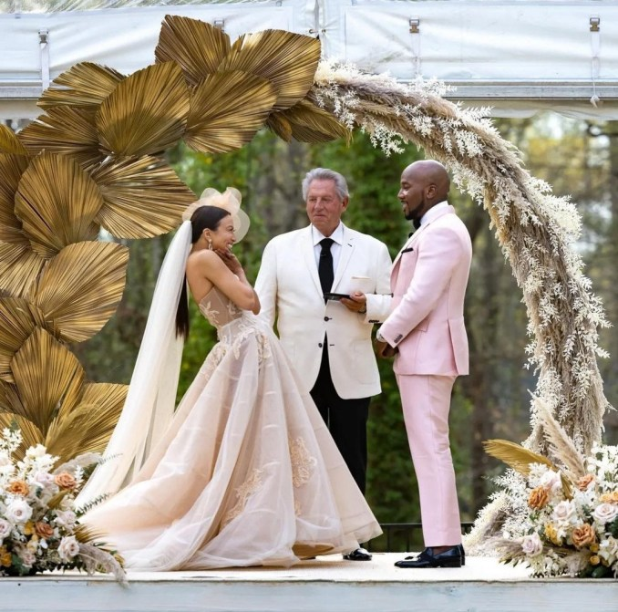 Jeannie Mai and Jeezy get married one year after their engagement (photos)