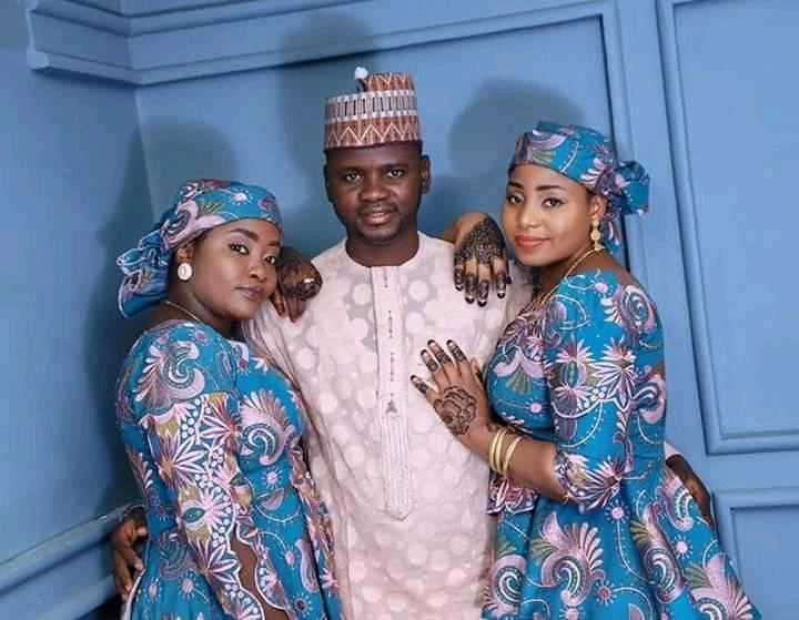 Everything I receive is double-double - 37-year-old man who married two wives says