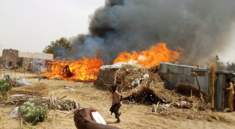 Two IDPs killed in another campfire disaster in Borno