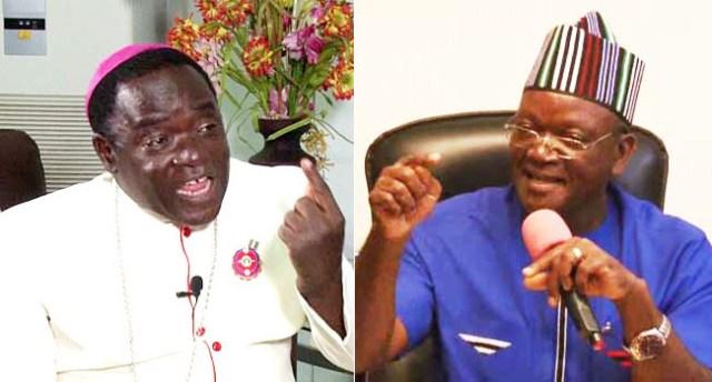 I would make same comments as Bishop Kukah if I was addressing same audience - Governor Ortom slams Presidency