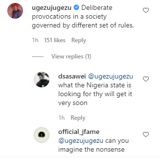 This is deliberate provocation - Actor Ugezu Ugezu reacts to soldiers allegedly shutting down Imo market and telling them to resume when Biafra is achieved