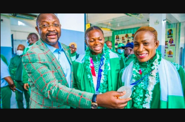 Tokyo Olympics: Nigerias 74th position is best in 13-years - Sports minister, Sunday Dare