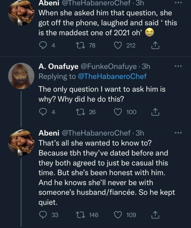 Lady in shock after boyfriend got married to another woman two weeks after they shopped for a shoe