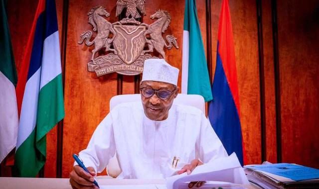 Buhari signs PIB 2021 into law