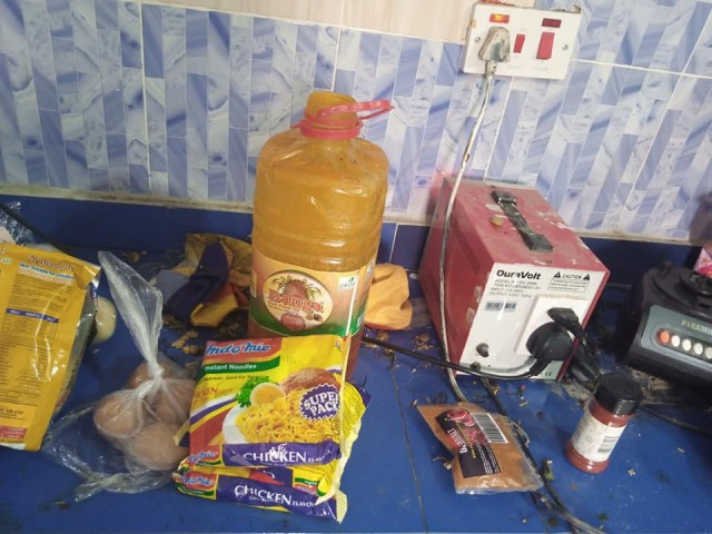 Nigerian lady shares photos of dirty house of a Benin 'big boy' she visited