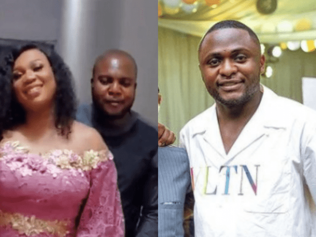 Sandra Iheuwa reacts after being told she's 'peppering' her baby daddy Ubi Franklin with her honeymoon photos and videos