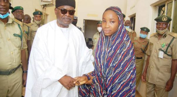 Kano child bride who was convicted for killing her husband pardoned after 7 years