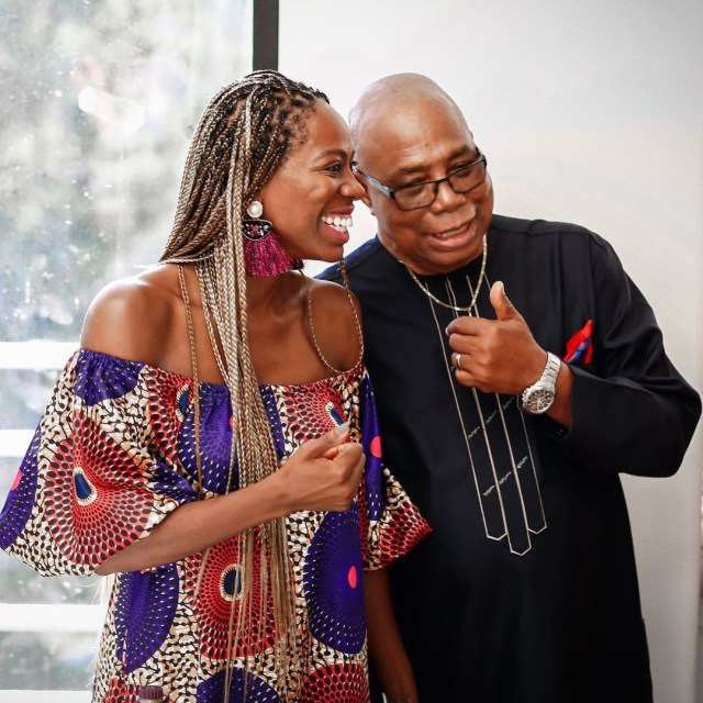 Actress Yvonne Orji buys her father a car ahead of his 80th birthday