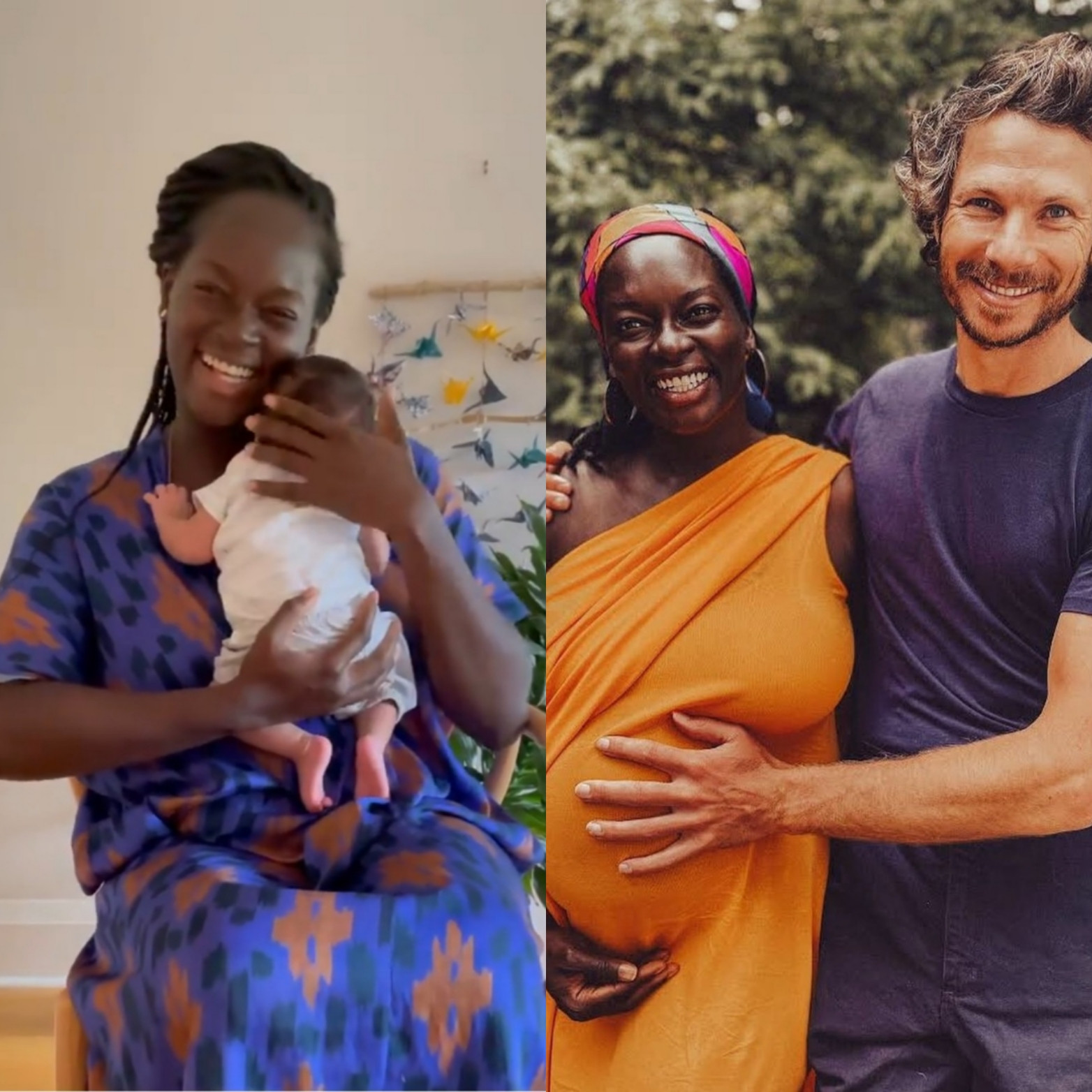 Dora Akunyili's daughter, Chidiogo Akunyili Parr, welcomes first child with husband, Andrew Parr