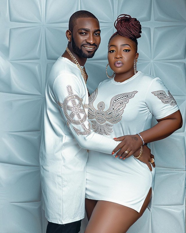 You no dey go anywhere sit down - Anita Joseph's husband hilariously reacts to her asking if she can go for BBNaija