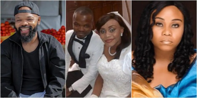 Our marriage was one plaqued with lots of issues which led to a paternity test that revealed our first son isn't mine - OAP Nedu says as denies ex-wife's domestic abuse allegation