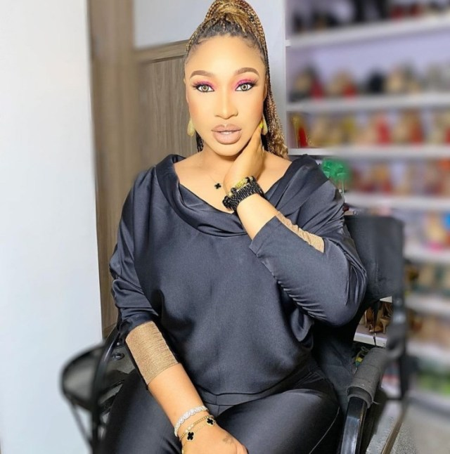 Friends who sit and entertain your gossip are enemies in disguise -Tonto Dikeh