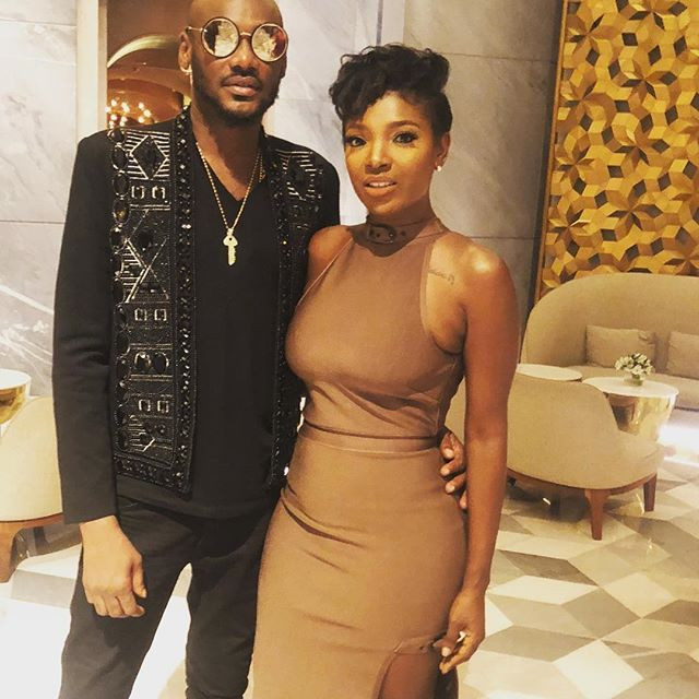 Annie Idibia seen in comment section of husband, Tuface's first Instagram post after her messy fight with his family