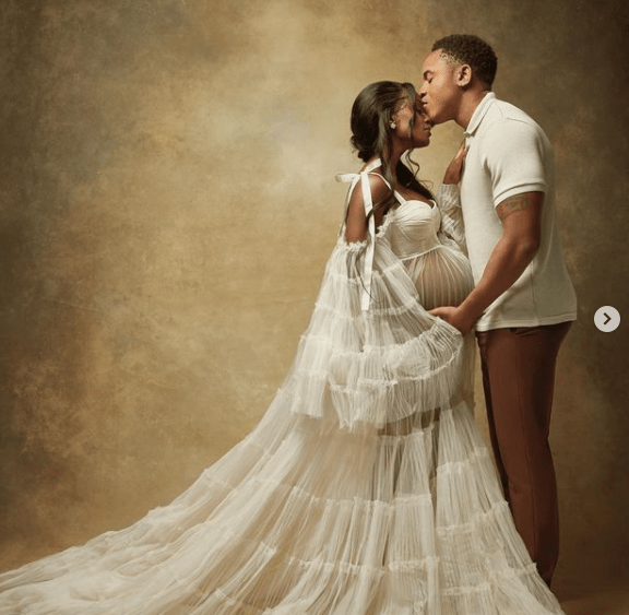 Rotimi and Vanessa Mdee are expecting their first child, share pregnancy photos