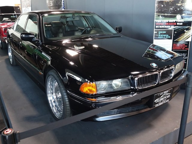 BMW Tupac was riding in when he was shot put up for sale for nearly $2m 1