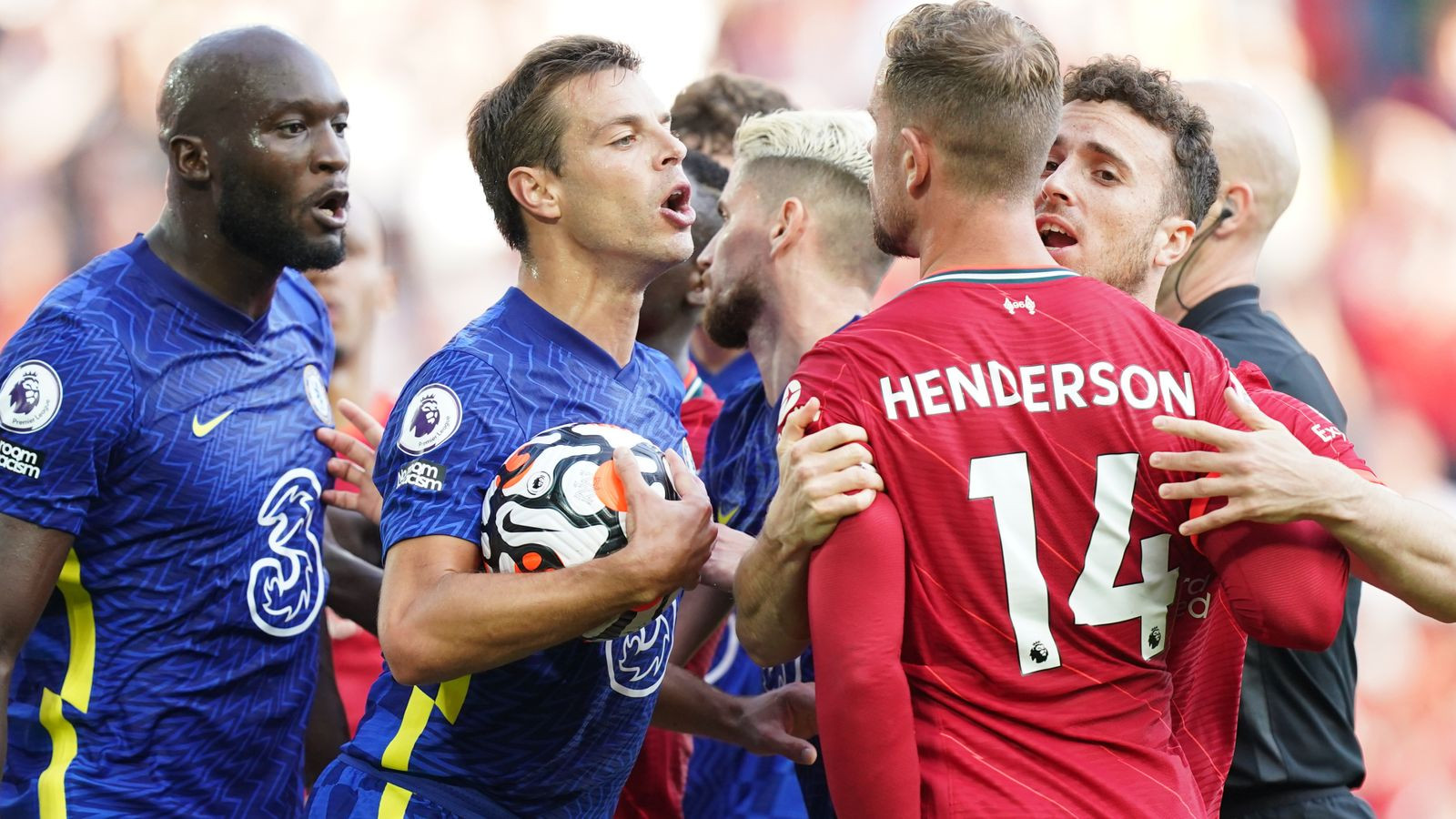 Chelsea fined £25,000 by FA for failing to control players in draw at Liverpool