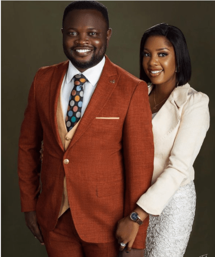 The Johnsons' star, Seun Osigbesan asks women to submit as she shares photos with her husband