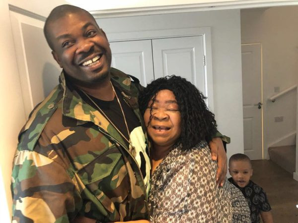 Don Jazzy celebrates his mother on her birthday