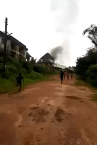 Alleged IPOBs ESN militants attack Imo school stop students from writing  their JSSCE and set motorcycles belonging to staff and students on fire