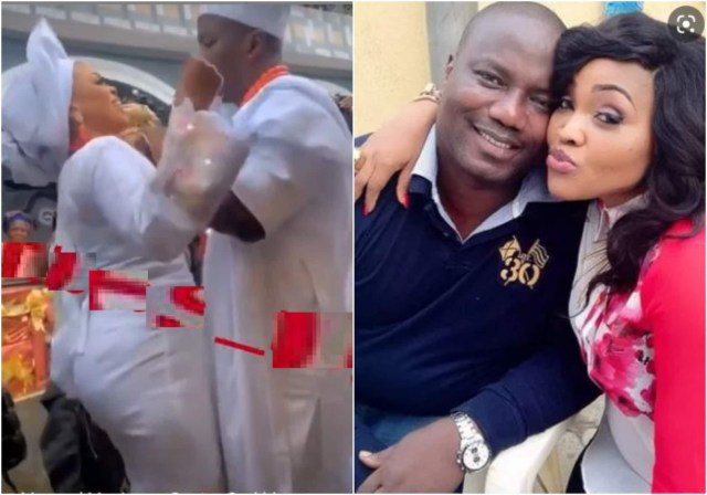 Still nobody's ex - Mercy Aigbe writes as ex-husband Lanre Gentry expresses excitement after marrying a new wife