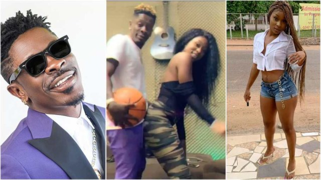 the only relationship that has ever existed between herself and Shatta Wale is that of friends and nothing more.