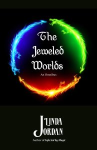 Book Cover: The Jeweled Worlds Omnibus