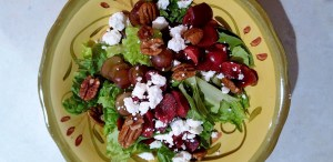 salad with pecans maple syrup 1