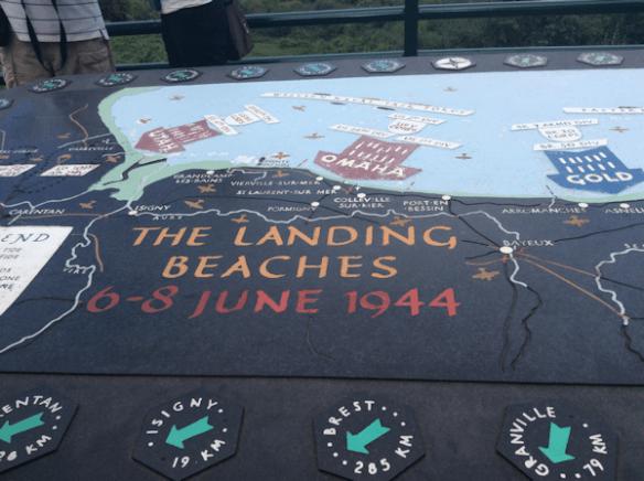 Landing Beach Map