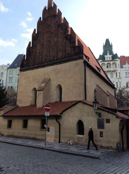 Prague's Old-New Synagogue
