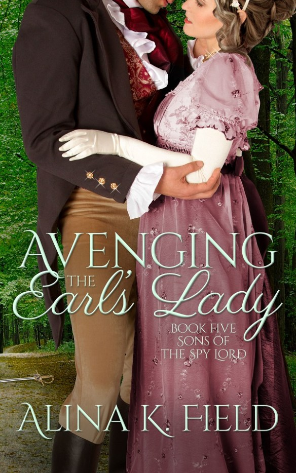 Avenging the Earl's Lady cover