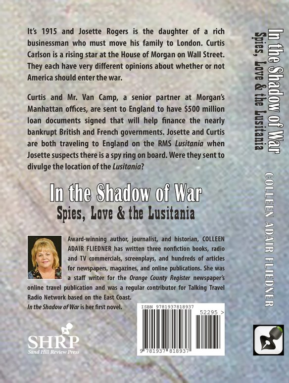 In the Shadow of War back cover