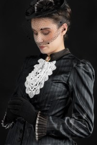 Victorian Woman in Black