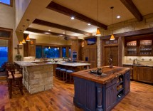 Texas Hill Country Home Interiors Kitchen