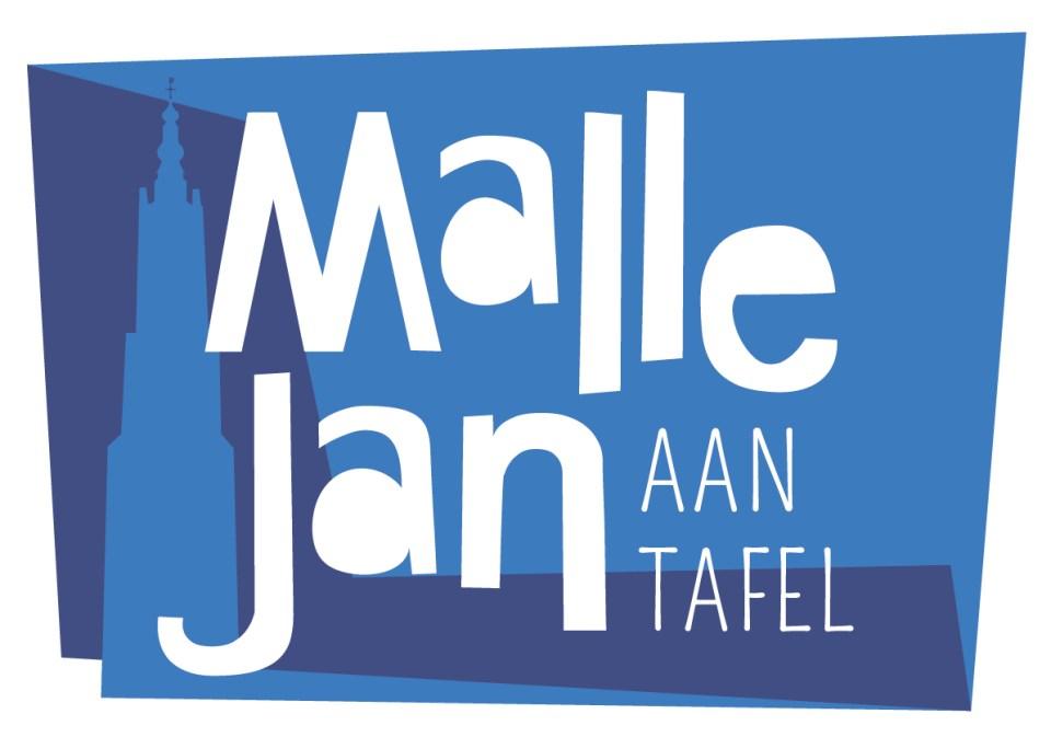 Ontwerp logo Mallejan aan tafel