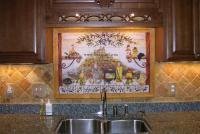 Backsplash Murals Travertine