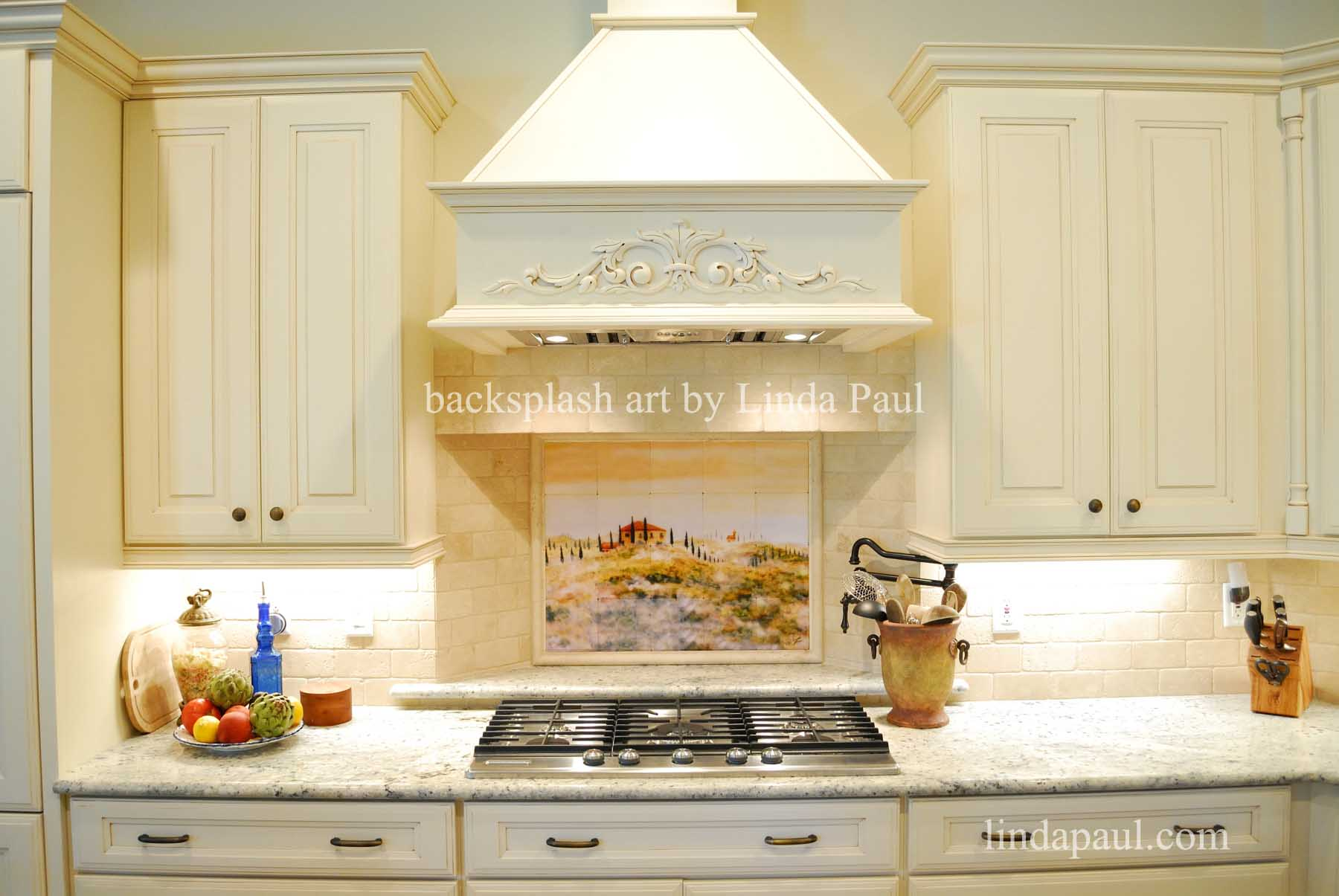 kitchen tile murals and bathroom showrooms tuscan backsplashes tuscany art tiles italian landscape backsplsh mural