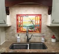 Tile Mural Backsplash | Tile Design Ideas