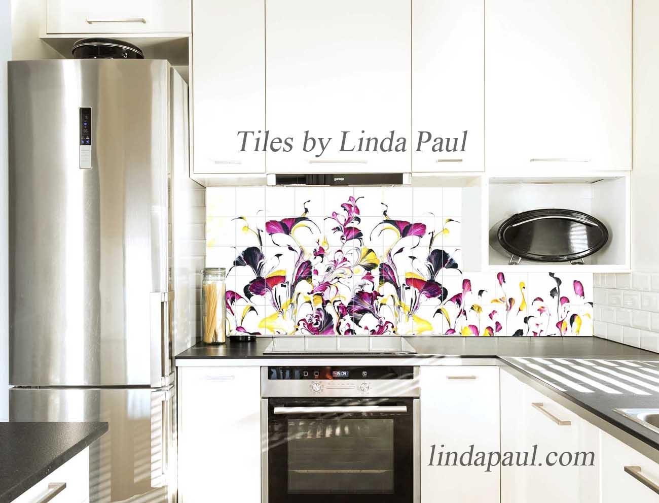 modern kitchen backsplash colorful backsplash tiles